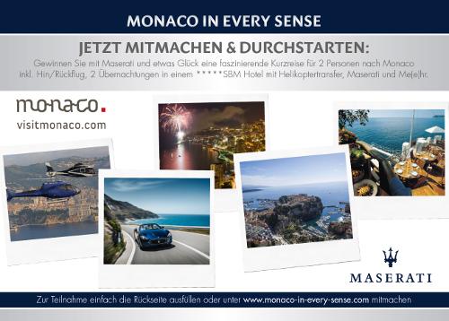 """Wir schalten einen Gang höher: """"Monaco in every sense"""" – driven by Maserati Deutschland"""