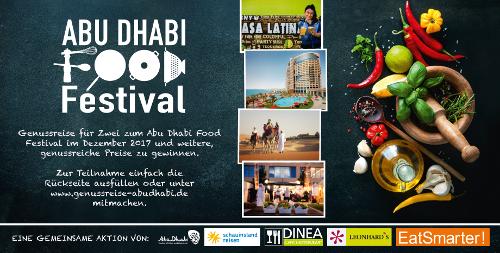 An die Töpfe, fertig, los: Start unserer Genuss-Kampagne für Abu Dhabi