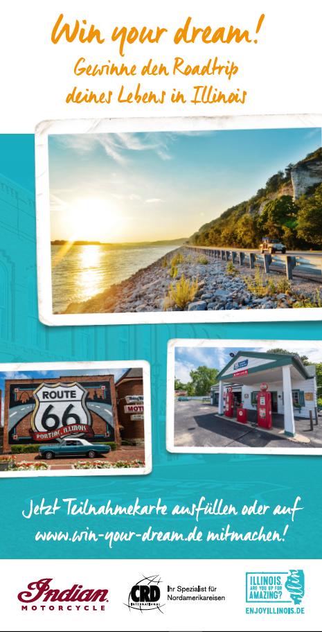 Zusammen mit Illinois Tourism und Indian Motorcycle starten wir durch auf die Route 66  Bild 2