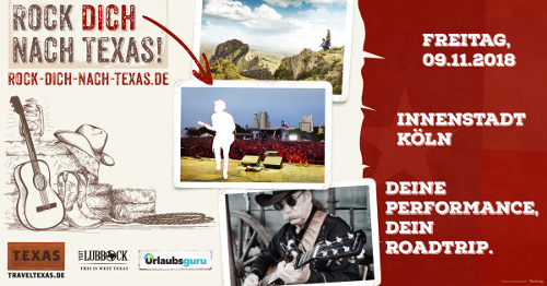 Wir rocken uns mit TravelTexas in den Wilden Westen