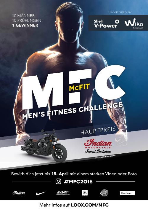 Wir unterstützen die McFIT Men´s Fitness Challenge 2018 mit unserem starken Partner Shell V-Power und Polaris Germany  Bild 2