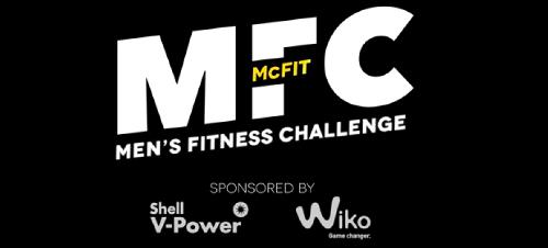 Wir unterstützen die McFIT Men´s Fitness Challenge 2018 mit unserem starken Partner Shell V-Power und Polaris Germany