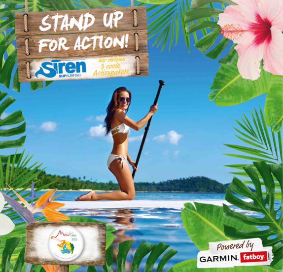 "Für Mauritius Tourism Promotion Authority initiieren wir die Kampagne ""STAND UP FOR ACTION!"""
