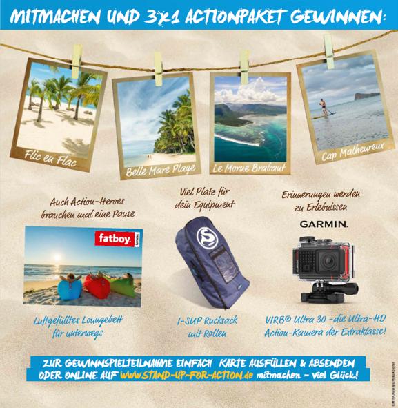 """Für Mauritius Tourism Promotion Authority initiieren wir die Kampagne """"STAND UP FOR ACTION!""""  Bild 2"""