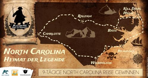 Ahoi! Wir wandeln mit blackbeards und Visit North Carolina auf Blackbeards Spuren