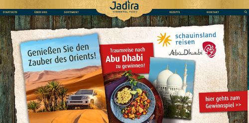 Wir gehen mit JADIRA Oriental Food und Abu Dhabi Tourism auf kulinarische Genussreise