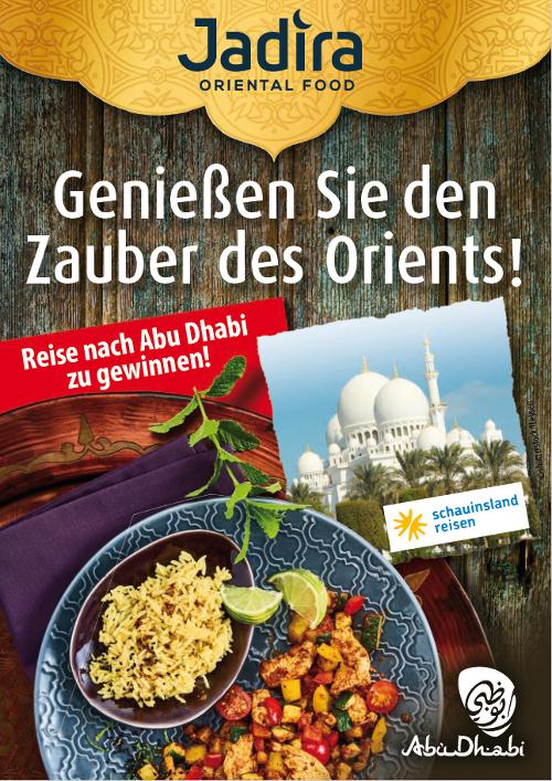 Wir gehen mit JADIRA Oriental Food und Abu Dhabi Tourism auf kulinarische Genussreise Bild 2