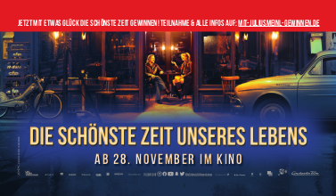 Wir verbringen mit Julius Meinl und Constantin Film die schönste Zeit unseres Lebens