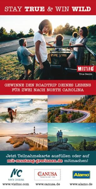 """""""STAY TRUE & WIN WILD"""" - Zusammen mit MUSTANG JEANS machen wir einen Roadtrip nach North Carolina"""