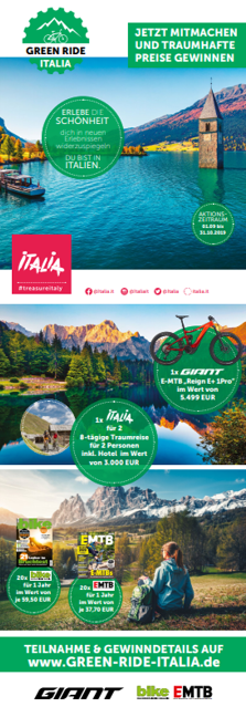AUF DEN SATTEL…FERTIG…GREEN RIDE ITALIA Bild 2