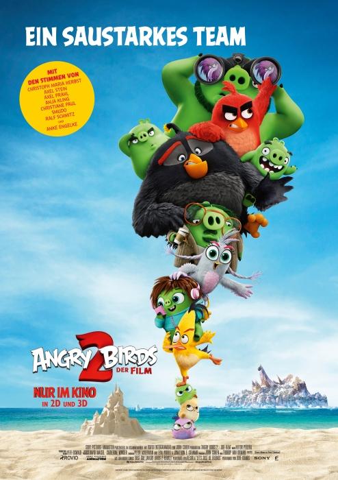 Wir flattern mit den Angry Birds ins Kino.