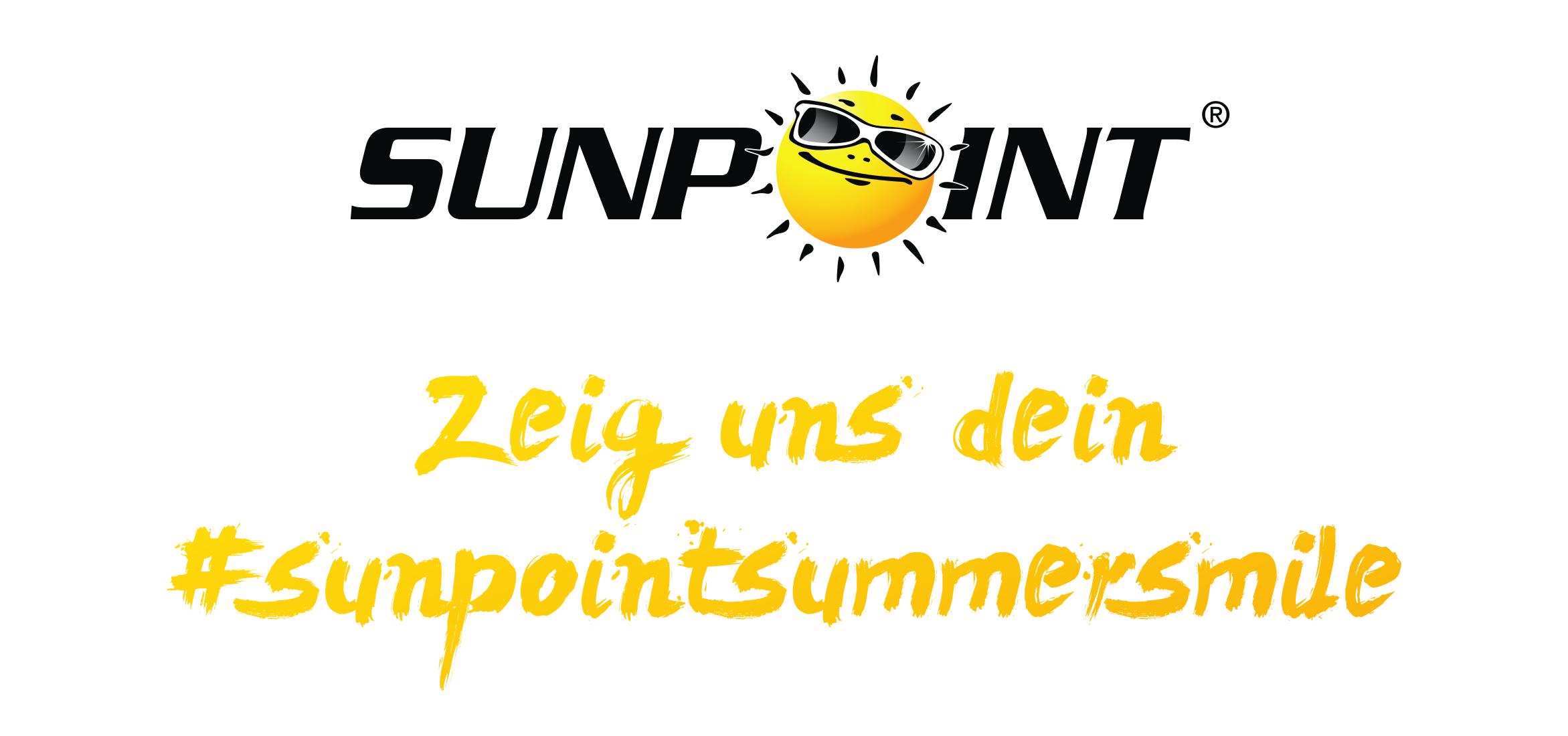 """SONNIGE TRADITION: UNSERE """"SUMMER-SMILE"""" AKTION FÜR SUNPOINT"""