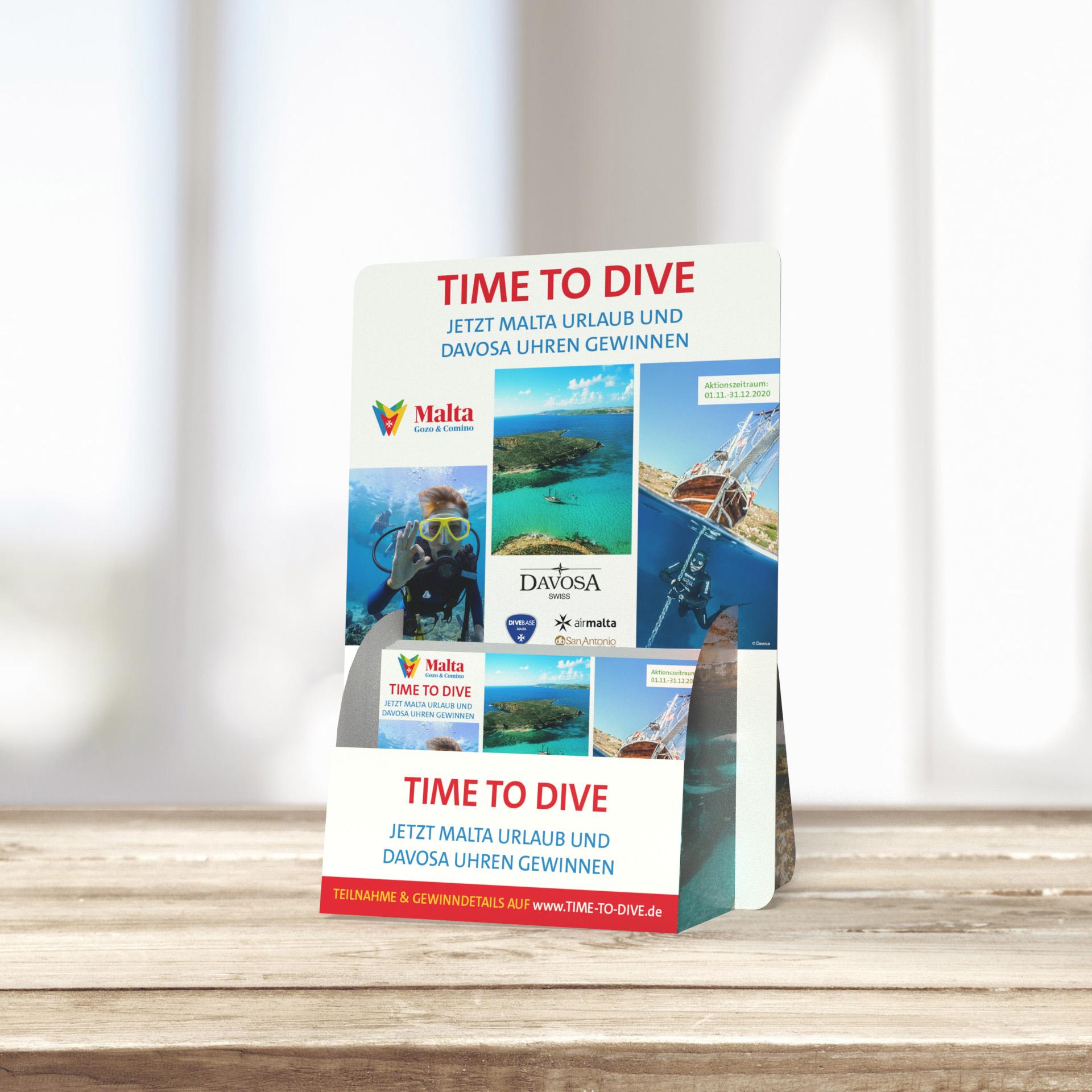 """""""TIME TO DIVE"""" – MIT DAVOSA TAUCHEN WIR INS UNTERWASSERPARADIES MALTA EIN  Bild 2"""