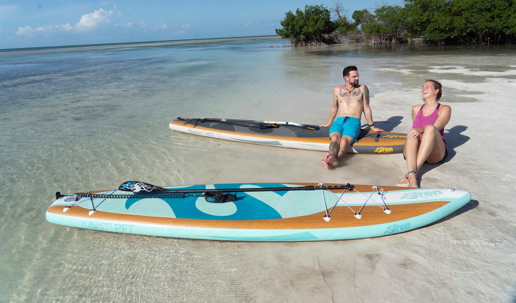 """Einfach SUPer auf der """"boot"""": Unsere Florida Keys & Key West Kampagne im SIREN Magalog 2020"""