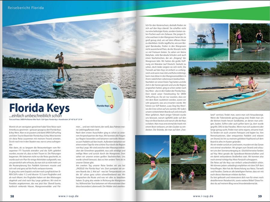 """Einfach SUPer auf der """"boot"""": Unsere Florida Keys & Key West Kampagne im SIREN Magalog 2020 Bild 2"""