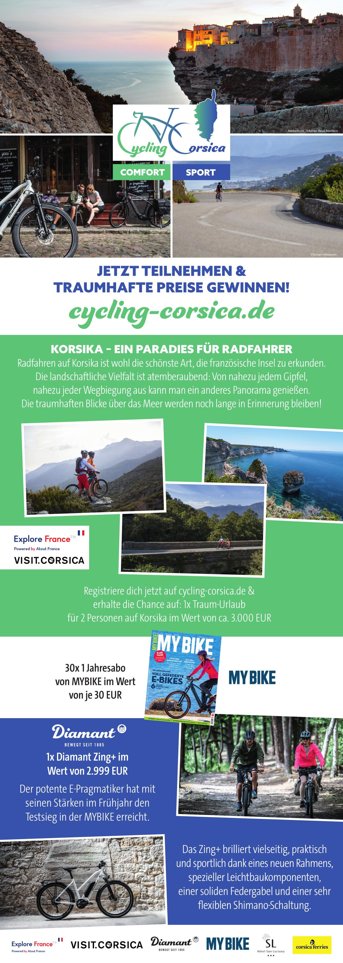 Rückenwind für Atout France und Visit Corsica